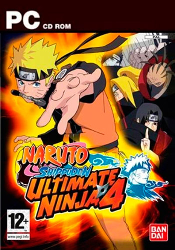 Naruto Ultimate Ninja 4 PC RUS