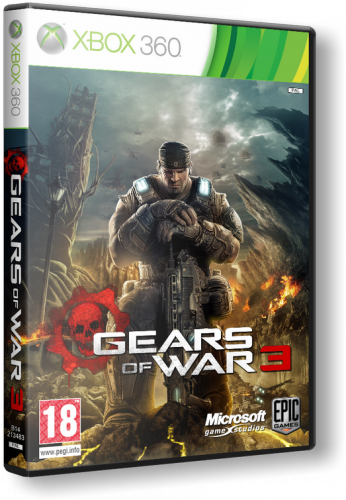 Gears of War 3 (2011) [Region Free][RUS][XGD3][LT+ 2.0]