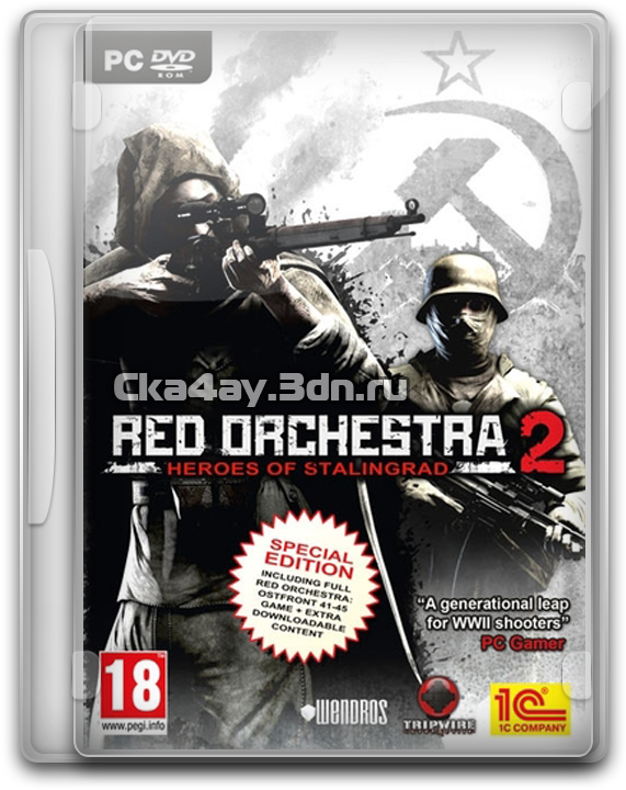 Скачать игру Red Orchestra 2: Heroes of Stalingrad на пк. скачать игру Red